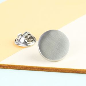 Men's Brushed Stainless Steel Tie Pin - men's accessories