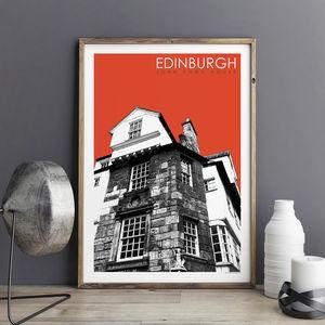 City Prints Edinburgh John Knox House