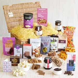 Artisan British Vegan Gift Basket