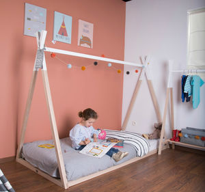 Wooden Teepee Bed - gifts for children