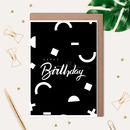 Birthday Printed Card