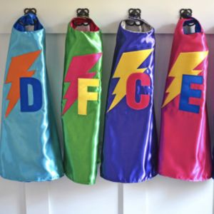 Personalised Superhero Cape - pretend play & dressing up
