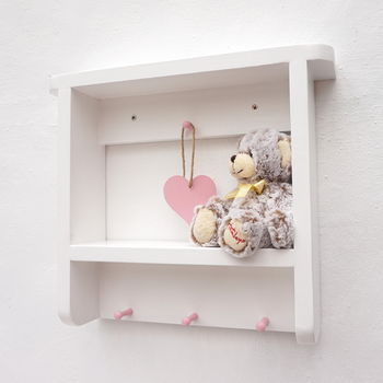 Handmade Nursery/Children's Room Wall Shelf