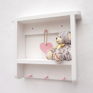 Handmade Nursery/Children's Room Wall Shelf - shelves & racks