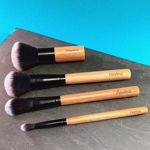 Four Piece Make Up Brush Base Set Flawless Base - beauty accessories