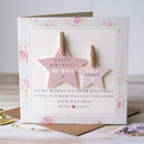 Personalised Mummy Birthday Card