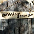 Driftwood Style Wooden Sign
