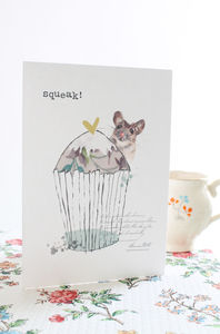 'Squeak' Mouse Card