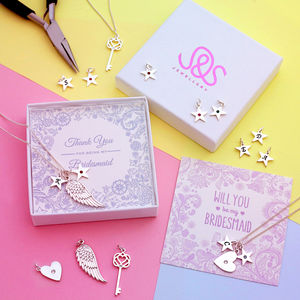 Create A Charm Jewellery Gift For Bridesmaids