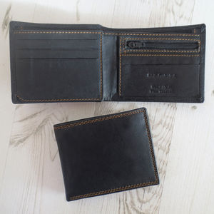 Handmade Rfid Shielded Leather Wallet - wallets