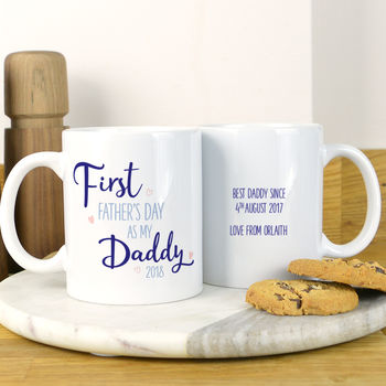 First Father's Day Mug For Daddy