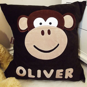 Personalised Character Cushion For Children - home sale