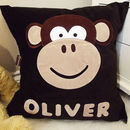 Personalised Character Cushion For Children