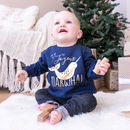 Joyeux Narwhal Children's Christmas Jumper