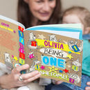 Personalised One St Birthday Children's Book
