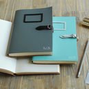 Recycled Leather Buckle Journal A5