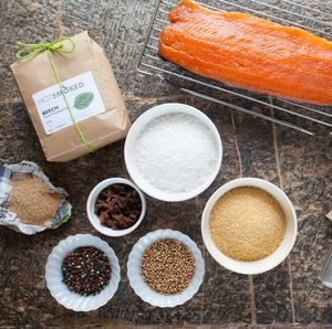 Smoked Salmon Kit - the modern forager