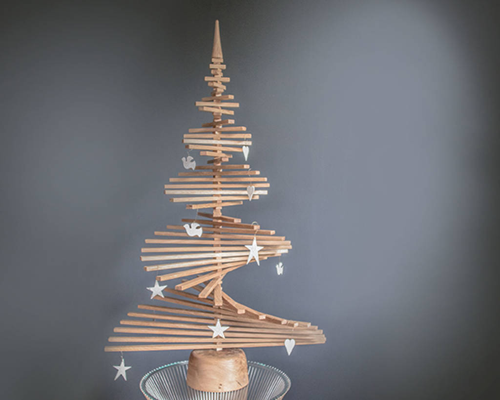 Alternative Oak Christmas Tree By Natural Wood Company