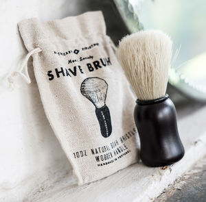 Shaving Brush 'Damn Handsome' 100% Natural - health & beauty