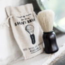 Shaving Brush 'Damn Handsome' 100% Natural