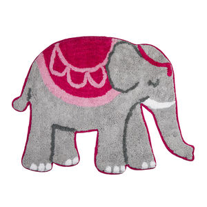Elephant Cotton Rug