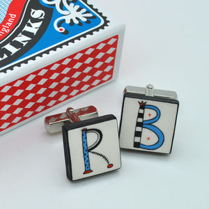 Initial Cufflinks - winter sale