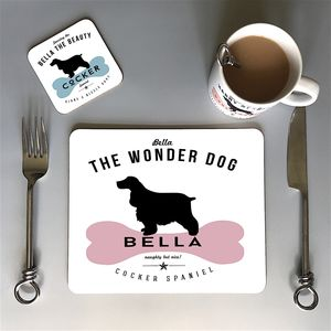 Cocker Spaniel Dog Owners Mug And Tableware