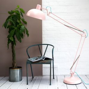 Dusty Pink Floor Lamp - lighting