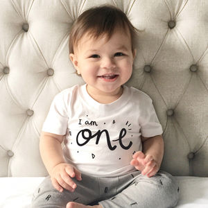 The Birthday Tee - gifts for babies