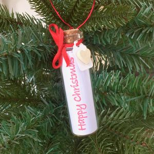 Handmade Christmas Tree Message In A Bottle - view all new