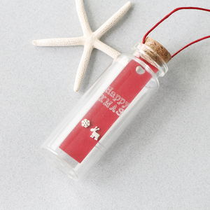 'Christmas Wish' In A Message Bottle