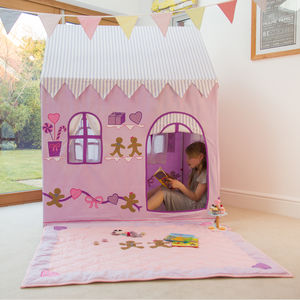 Gingerbread Cottage And Sweet Shop Playhouse - tents, dens & teepees