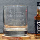 Whisky And Tumbler Jack Daniels Gift Set