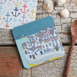 Coastal Village Melamine Coaster - what's new