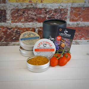 Gourmet Spices Three Tin Collection, Choose Three Tins