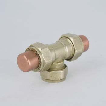 Copper And Brass T Knob/Pull