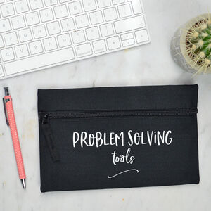Problem Solving Tools Pencil Case