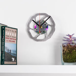 Bicycle Brake Disc Clock - kitchen