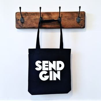 Send Gin Canvas Tote Bag
