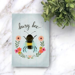 Busy Bee Notebook - notebooks & journals