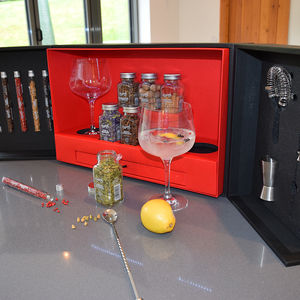 The Black Box Cocktail Bar - luxury hampers