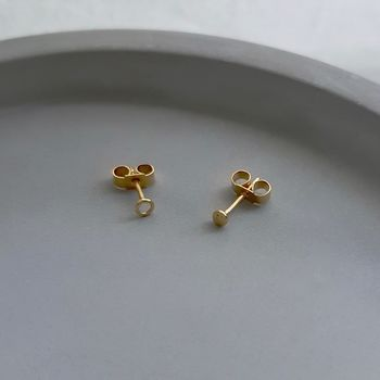 Mismatched Tiny Gold Studs
