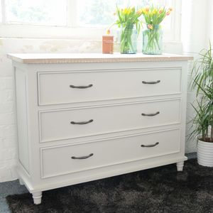 Bayonne Three Drawer Chest - chests of drawers