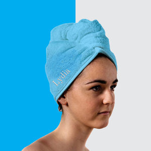 Persoanlised Hair Towel - bathroom