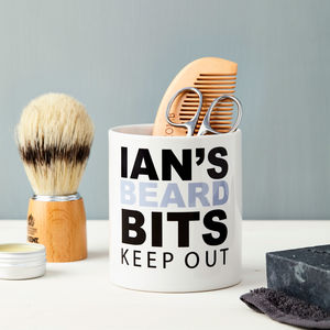 Personalised Grooming Kit Holder