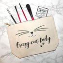 Crazy Cat Lady Make Up Case