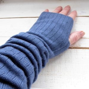 Cashmere Silk Wrist Warmers - hats, scarves & gloves