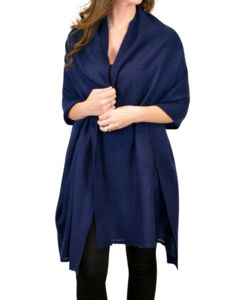Pure Cashmere Two Ply Pashmina Shawl Wrap - pashminas & wraps