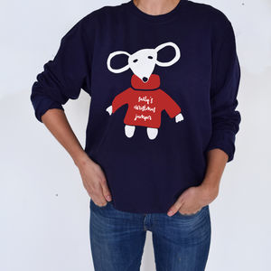 Christmas Mouse Jumper - christmas sale