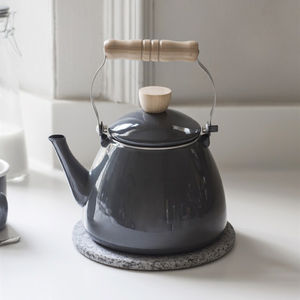 Enamel Stove Kettle - kitchen